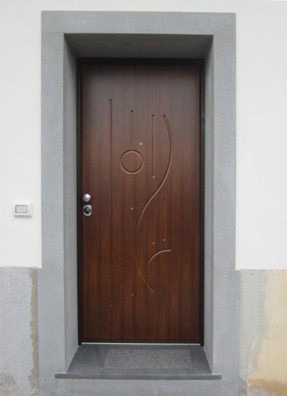 Porta blindata esterno pannelli termoisolanti - Portoncini blindati per esterno ...
